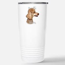 Poodle Mom2 Stainless Steel Travel Mug
