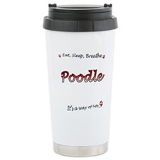 Poodle Breathe Travel Mug