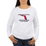 Voting used to be fun Women's Long Sleeve T-Shirt