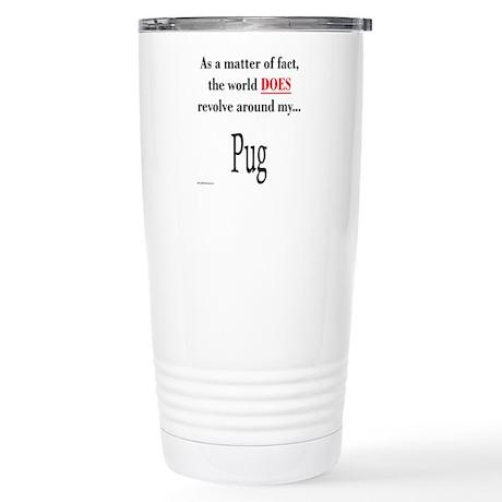 Pug World Stainless Steel Travel Mug