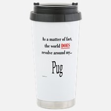 Pug World Travel Mug