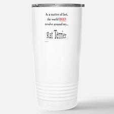 Rat Terrier World Stainless Steel Travel Mug