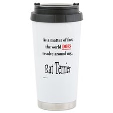 Rat Terrier World Travel Mug