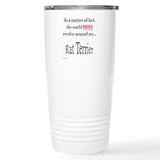 Rat Terrier World Travel Mug