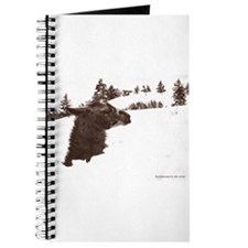 Llama in Snow Journal
