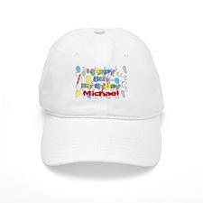 Michael's 8th Birthday Baseball Cap