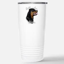 Rottweiler Mom2 Stainless Steel Travel Mug