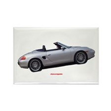 Boxster Rectangle Magnet (100 pack)