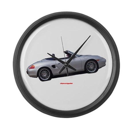 Boxster Large Wall Clock