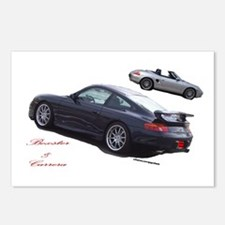 Carrera & Boxster Postcards (Package of 8)
