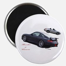 """Carrera & Boxster 2.25"""" Magnet (100 pack)"""