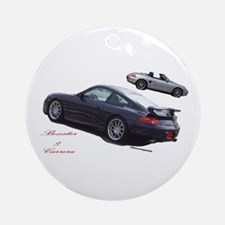 Carrera & Boxster Ornament (Round)