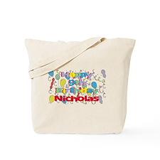 Nicholas's 9th Birthday Tote Bag