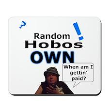 Random Hobo Mouse Pad