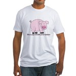 I'm a Pig Fitted T-Shirt