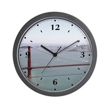 Bay Spanners Wall Clock