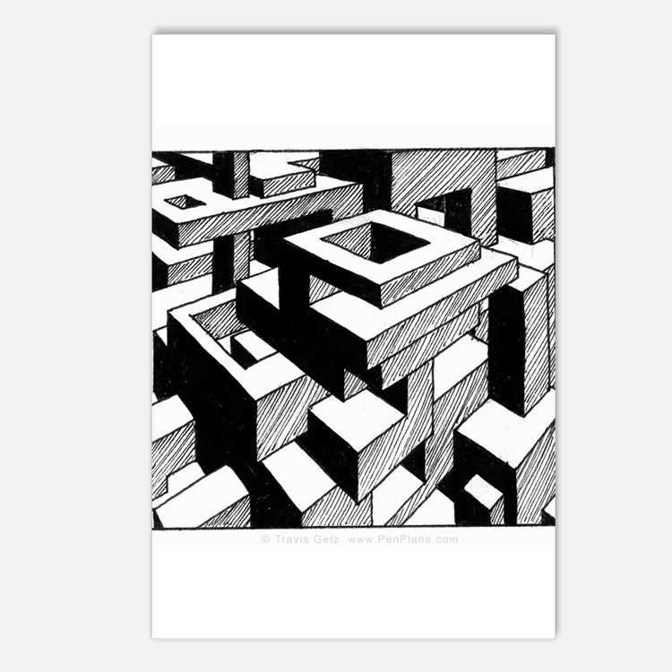 'Modulator' Postcards (Package of 8)
