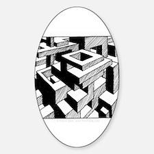 'Modulator' Oval Decal