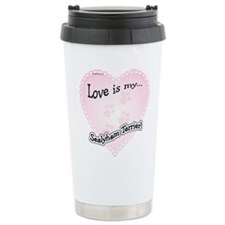 Love is my Sealyham Terrier Travel Mug