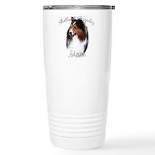 Sheltie Mom2 Travel Coffee Mug