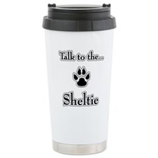 Sheltie Talk Travel Mug