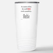 Sheltie World Stainless Steel Travel Mug