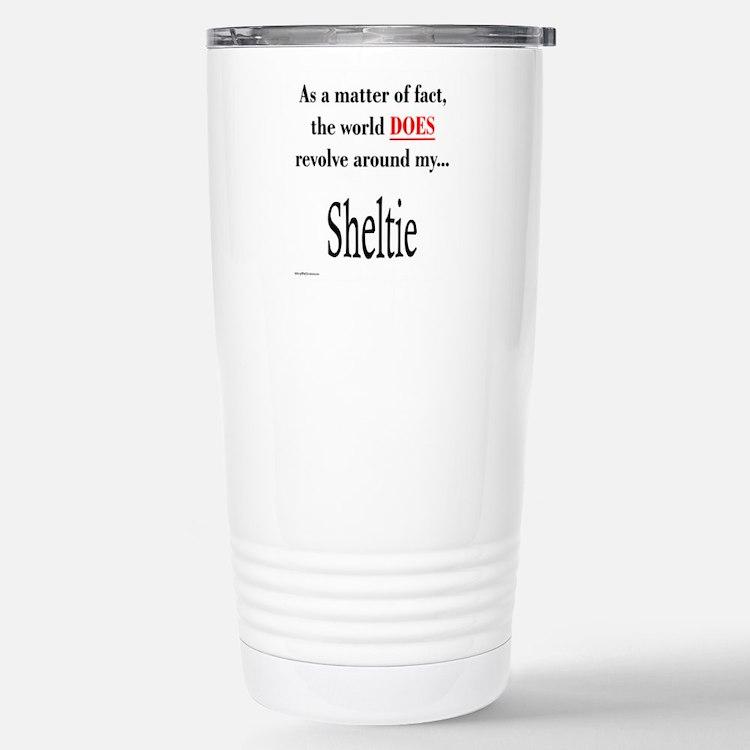 Sheltie World Travel Mug