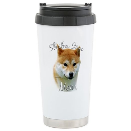 Shiba Mom2 Stainless Steel Travel Mug
