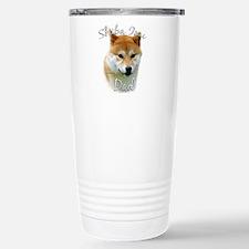 Shiba Dad2 Stainless Steel Travel Mug