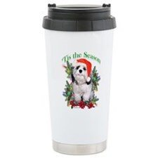 Shih Tzu 'Tis Travel Coffee Mug