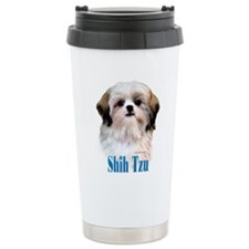 Shih Tzu Name Travel Coffee Mug