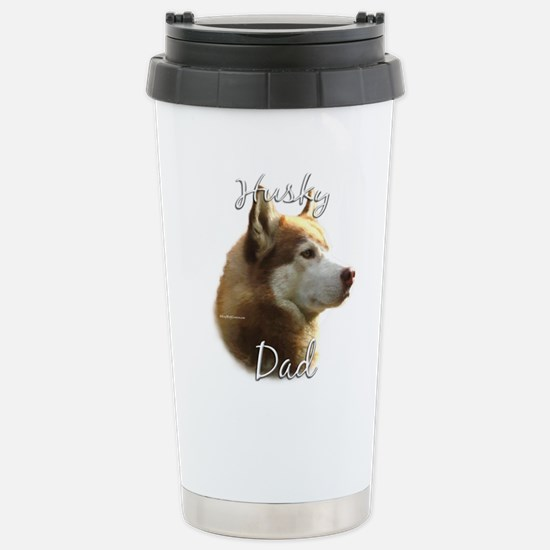 Husky Dad2 Stainless Steel Travel Mug