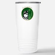 Husky Peace Stainless Steel Travel Mug