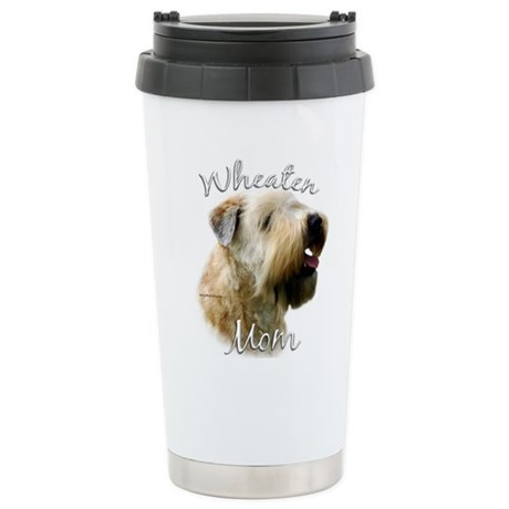 Wheaten Mom2 Stainless Steel Travel Mug
