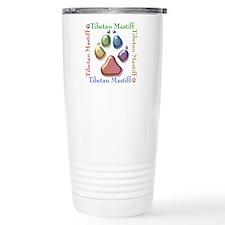Tibetan Mastiff Name2 Travel Coffee Mug