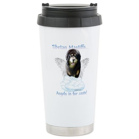 Tibetan Angel Stainless Steel Travel Mug