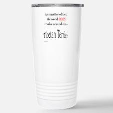 Tibetan Terrier World Stainless Steel Travel Mug