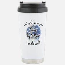 Toy Fox World2 Stainless Steel Travel Mug
