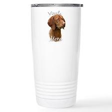 Vizsla Mom2 Thermos Mug