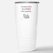 Vizsla World Travel Mug