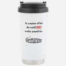 Weimaraner World Stainless Steel Travel Mug