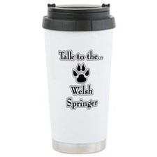 Welsh Springer Talk Travel Mug