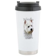 Westie Mom2 Travel Mug