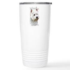 Westie Mom2 Travel Coffee Mug