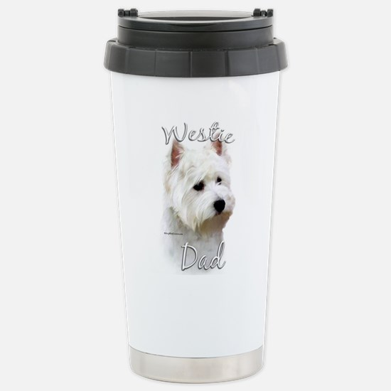 Westie Dad2 Stainless Steel Travel Mug