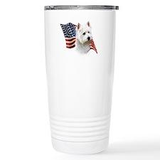 Westie Flag Travel Mug