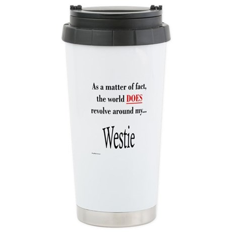 Westie World Stainless Steel Travel Mug