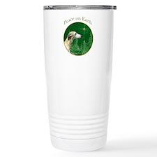 Whippet Peace Travel Mug