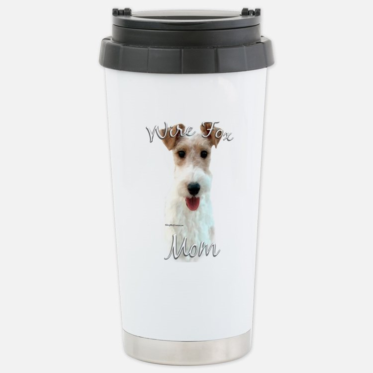 Wire Fox Mom2 Stainless Steel Travel Mug