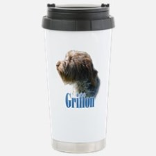 WireGriffName Stainless Steel Travel Mug